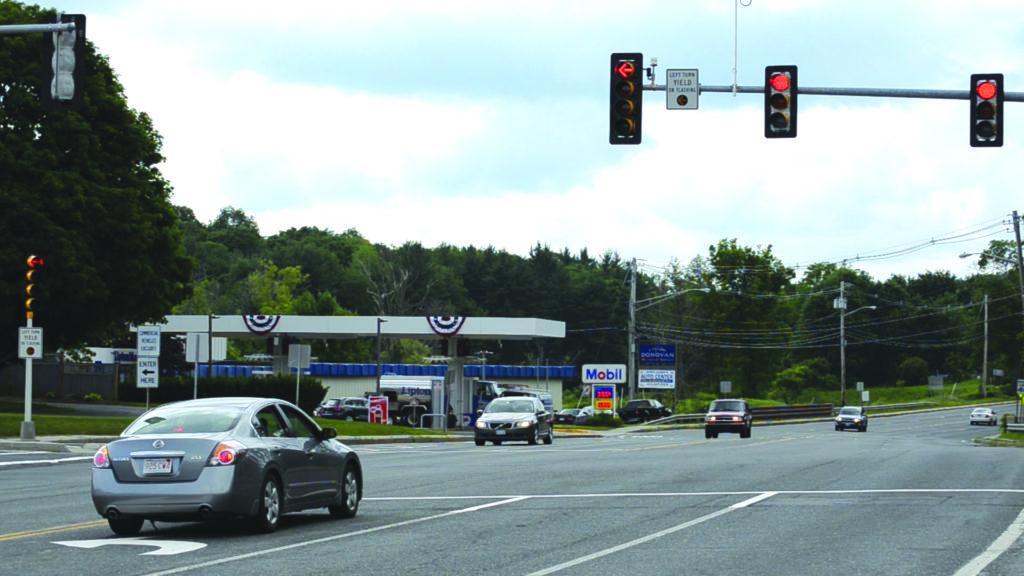 At Intersection But No Crosswal